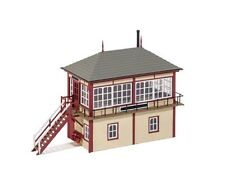 536 Ratio Midland Signal Box (130mm x 50mm) Plastic model Railway OO Buildings