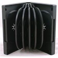 20 X 12 VIE NUOVE Nero DVD / CD DISC caso 12 modo Multiway 38mm COPERTURA DI RICAMBIO