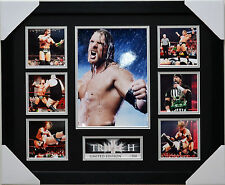 TRIPLE H LIMITED EDITION FRAMED MEMORABILIA