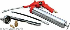 Professional Air Grease Gun Kit Pneumatic Lubricating Greasing 1200 - 6000 PSI