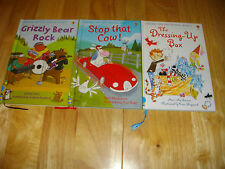 USBORNE VERY FIRST READING 3 COLOUR H/B LEARN TO READ RHYMING STORIES COLOUR