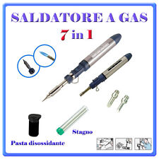 Mini Saldatore Cannello Torcia a Gas Professionale ricaricabile