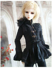 1/3 BJD Iplehouse YID SD17 Boy Doll outfit Black Color Gothic Shirt ship US