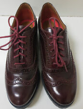 Women's Sperry Top-Sider Ashbury Cordovan Oxfords Shoes 6 M, NEW $125