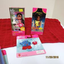 NRFB Barbie Kitty Fun Melody Tommy Fashion Favorites Marisa Li'l Friends Kelly