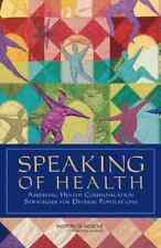 Speaking Of Health:  BOOK NEW