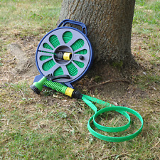New KINGFISHER Premium 50ft Hose Pipe With Spray Gun Nozzle Gardening Watering
