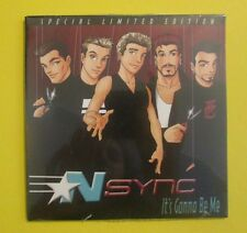 N'Sync It's Gonna Be Me Special Limited Edition Justin Timberlake Single NEW CD