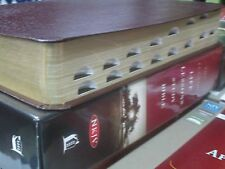 ** NKJV Study Bible ** Burgundy Bonded LEATHER -Thumb-Indexed!! ( Lucado )  NEW!