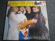 Nolans-Sexy Music LP-1981 Japan-OBI-Pop-33 U/min-with shrink wrap-EPIC-28 3P-266