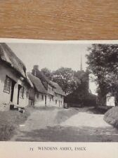 Ephemera 1949 Picture Wendens Ambo Essex M5019