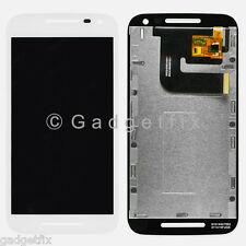 US White Motorola Moto G 2015 3rd Gen XT1552 XT1550 LCD Touch Screen Digitizer
