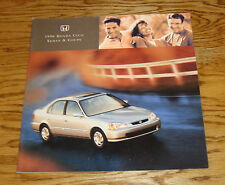 Original 1996 Honda Civic Sedan & Coupe Deluxe Sales Brochure 96
