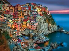 Buffalo Games Signature Series, Cinque Terre - 1000pc Jigsaw Puzzle , New, Free