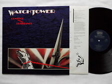 WATCHTOWER Control & Resistance RARE GERMANY Orig LP NOISE Int. NEW-UNPLAYED !