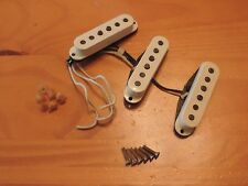 Fender Aged White Custom Shop 56 Stratocaster Time Machine Pickup Set Relic