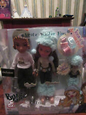 BRATZ BOXED SPECIAL 3 -IN -1 WINTER FUN  PACK.CADE,YASMIN and TALIA.