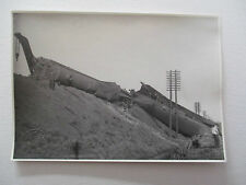 "TRAIN DISASTER - KEMSLEY NEWSPAPERS Ltd , MANCHESTER - 6"" X 4"" PHOTO"