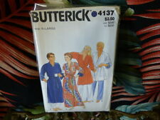 80s Butterick UNISEX robe Pattern 4137 XL 46-18 bust/chest