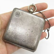 Antique Germany 800 Silver Collectible Hammered Finish Great Condition Wallet