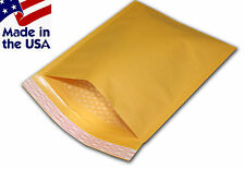 "500 #000 4x8 Kraft Bubble Mailers Padded Envelopes Bags 4""x8"""