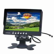 """BT 7"""" TFT LCD Car Rearview Color Monitor for VCD DVD GPS Camera"""