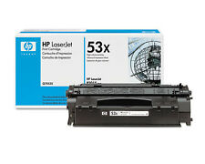 Genuine OEM HP 53X Q7553X High Yield Black Original LaserJet Toner Cartridge