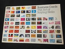 Business Cards: THE ART OF SAYING HELLO, Mike Dorrian Paperback Book - Christmas