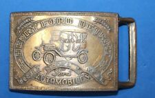 HENRY FORD DETROIT AUTOMOBILES BELT BUCKLE