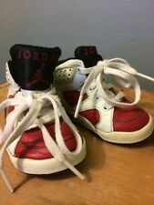 Vtg Nike Air Jordan 6 Baby Kids Toddler Infant Shoes Sneakers 1991 Boys Size 3