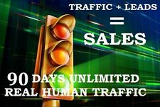 High Quality Unlimited Cheap Web Traffic-90 Days+Full Website Tracking+SEO SAFE