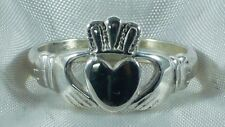 ANELLO CLADDAGH ARGENTO 925 STERLING SILVER CLADDAGH RING MID