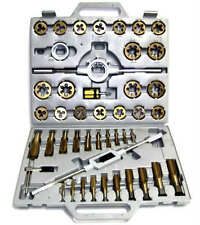 NEW 45pc Tap and Die Set Metric Tungsten Steel Titanium tools