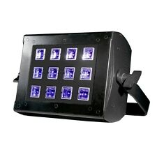American DJ UV Flood 36 Blacklight Cannon Ultraviolet 12 x 3W LED DMX Light