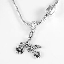 Dirt Bike Necklace Motocross Gift Dirt Bike chain Biker Present Dirt BikePendent