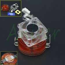 Copper Adjustable Heatsink Fin Cooler w/Fan For PC Northbridge Chipset Cooling
