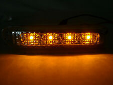 DEPO 2000-03 BMW E46 2D COUPE / CABRIO CLEAR AMBER LED FENDER SIDE MARKER LIGHT