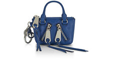 NEW Rebecca Minkoff Bag Moto Satchel Key Fob Coin Purse Mini Credit Card Pouch