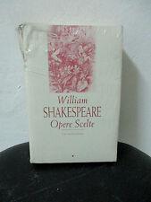 Shakespeare OPERE SCELTE  con testo a fronte - Garzanti blisterato