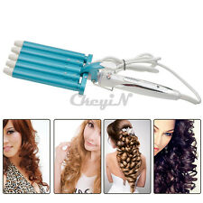 5 Pipes Joint Hair Wave Waver Nano Titanium Ceramic Curler Roller Curling Iron