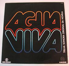 AGUA VIVA Trilha Sonora Latin Pop VA NM Brazil Som Livre 1980 LP