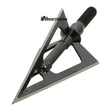 Hunting Arrow Tip Broadheads 100GR 3-blades fit hunting archery compound bow A