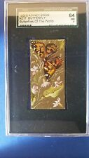 1880s N217 Kinney Brothers Cigarettes Butterflies of the World  SGC 84  NM