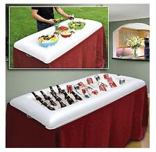 Inflatable Serving Bar Food Salad Drink Ice Cooler Picnic Drink Table Camping