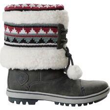 Helly Hansen HH Iskoras Grey & Two Tone Pom Poms Women's Winter Boots UK 6.5