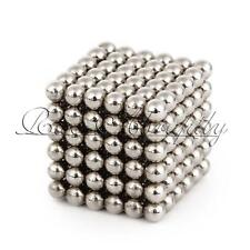 Kids XMAS Gift 3mm 216pcs Magic Silver Beads Puzzle Balls Sphere Ball DIY Toy