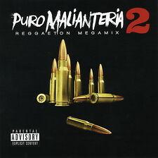 Puro Malianteria 2 Reggaeton MegaMix DvD & CD Sealed 2016 Latin Spanish Music