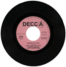 "CANDY & THE KISSES  ""CHAINS OF LOVE c/w SOMEONE OUT THERE""  DEMO NORTHERN SOUL"