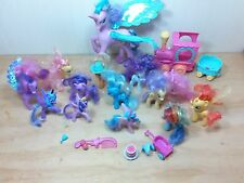 Hasbro MY LITTLE PONY FRIENDSHIP  mini figure lot of 14 collection train L@@K