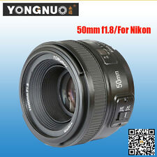 Yongnuo standard 50mm F1.8 Prime Lens Auto Manual Focus AF/ MF for Nikon Cameras